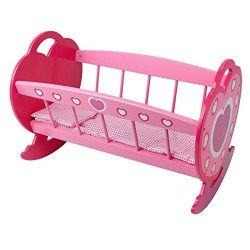 Dolls World Rocking Cradle