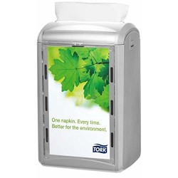 Tork 272513 Xpressnap Counter Napkin Dispenser N4 / Paper Dispenser Suitable for N4 Interfold Napkin Refills / Signature Design