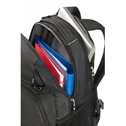 Samsonite Rewind Laptop Backpack Expandable, 45 cm, 34 L, Black
