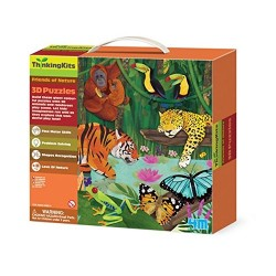 4M Rainforest 3D Floor Puzzles