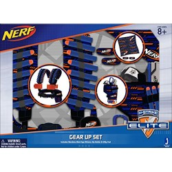 NERF 11518 Bandana/Hip Holster/Utility Vest Elite Stealth Striker Set