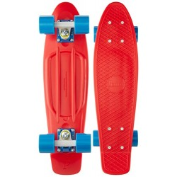 Penny Skateboards Unisex Child Red/Blue Skateboard