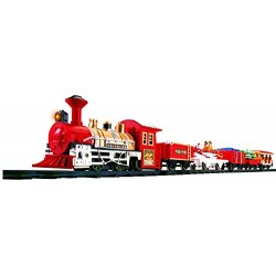 Goldlok Holiday Express Battery Operated Musical Train Set (Multi