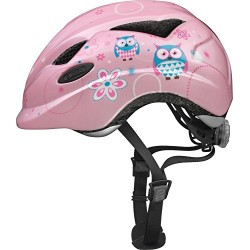 ABUS Anuky Children's Bicycle Helmet, Children's, Anuky, Rose Owl, Taille S 46
