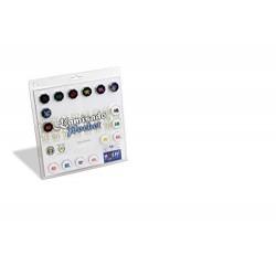 Huch & Friends 878748 Kamisado Pocket Tactics Game