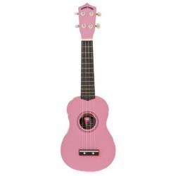 Coloured Ukulele (Pink)