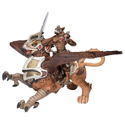 Papo Bird Man and War Griffin Figure (Multi