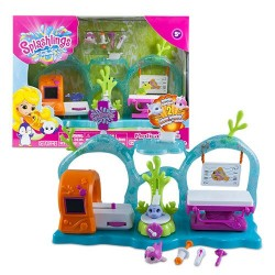 Splashlings 241545 Medical Clinic Playset
