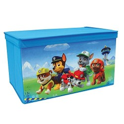 Fun House 712540 PAW Patrol Collapsible Polyester Toy Chest, Blue, 55.5 x 34.5 x 34 cm