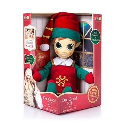 Portable North Pole 17120413 Girl Elf Plush Toy