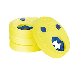 Zoggs Swim Arm Children's Lightweight and Comfortable Float Discs with Blue Inner
