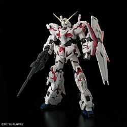Bandai Hobby BAN216741 RG 1/144 Unicorn Gundam UC Model Kit Figure, Multi