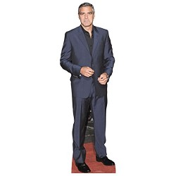 Star Cutouts Cut Out of George Clooney