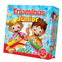 John Adams 10457 Triominoes Junior Colour Match Game