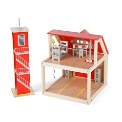 Tidlo Fire Station Set