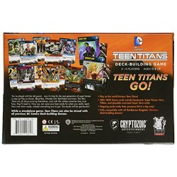 Cryptozoic Entertainment Teen Titans DC Deck Building Game