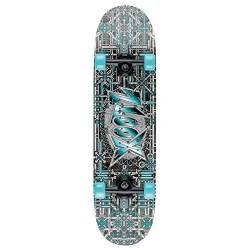 Xootz Kids Industrial Complete Beginners Double Kick Trick Skateboard Maple Deck