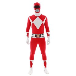 Official Red Power Ranger Morphsuit Costume