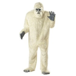 Abominable Snowman Yeti Fancy Dress Costume