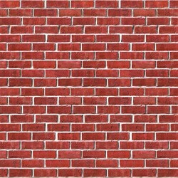 Red Brick Plastic Backdrop (4 Ft. X 30 FT.)