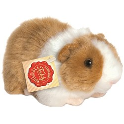 Hermann Teddy Collection 926399 20 cm Gold/White Guinea Pig Plush Toy