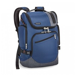 Briggs & Riley BRX Excursion Backpack, 22.8 Liters, Blue