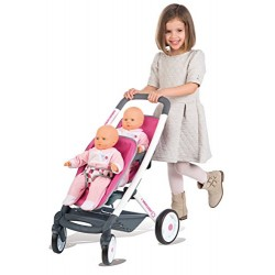 Smoby–253296Baby Confort Twin Buggy