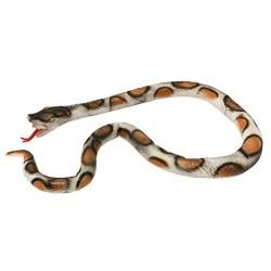 I Love Fancy Dress ILFD10262 Large 6ft Latex Snake Accessory
