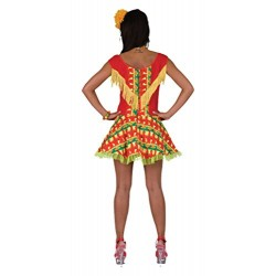 Bristol Novelty AC278 Mexican Lady Dress Costume (UK Size 10