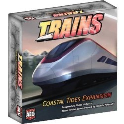 Alderac Entertainment ALD07014 Trains Coastal Tides Expansion Board Game