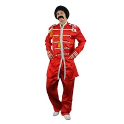 I Love Fancy Dress ILFD4536L Men's 60's Sergeant Costumes (Large)
