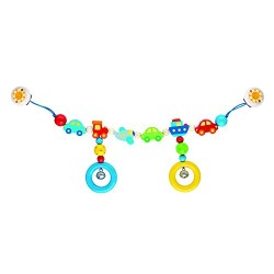 Heimess 736000 Wooden Pram String Clip On (Vehicles)