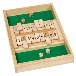 GoKi Wooden Double Shut the Box Game
