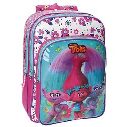 Trolls School backpack, 40 cm, 19.2 liters, Multicolour