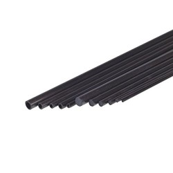 Jamara Jamara230064 6.1 x 8 x 1000 mm Carbon Fibre Tube