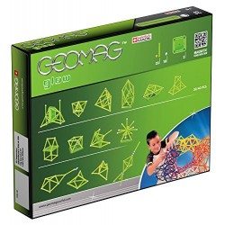 GEOMAG 330 Glow Magnetic Construction Set (40