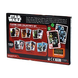 Cartamundi Star Wars Force Awakens Playing Cards Collectors Set (Multi