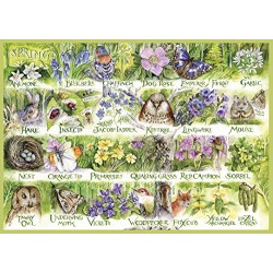 Gibsons G5048 Woodland Seasons Jigsaw Puzzle (4x500)