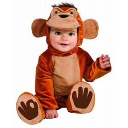Funky Monkey Romper Toddler Costume 1