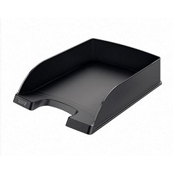 Leitz Plus Letter Tray – 70 mm – Pack of 5 a4 black