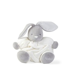 Kaloo K969552 Plume Chubby Rabbit Toy, Cream, 12