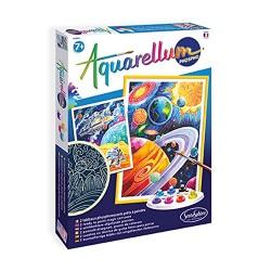 Sentosphère 3906413 Aquarellum Phospho Cosmos Painting Set