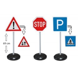 BIG 27 x 12 x 71 cm Traffic Signs