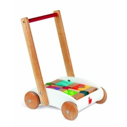 Janod J05584 I Wood Mini Buggy Wooden Toy