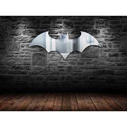 DC Comics Batman Logo Mirror, Clear