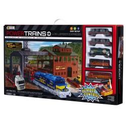 Power Trains Remote Control Log Loader Express Bonus Pack Building Toy
