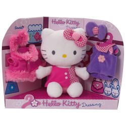 Jemini – Hello Kitty 022676 – Soft Toy – Dressing – 20 cm