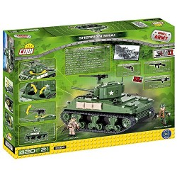 Cobi 2464 Sherman M4A1 Small Army WWII 400 Building Bricks