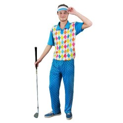 I Love Fancy Dress ILFD4527M Men's Golfer Costumes (Medium)