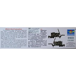 Trumpeter 01023 – Model Kit MPQ 53 °C Band Tracking Radar
